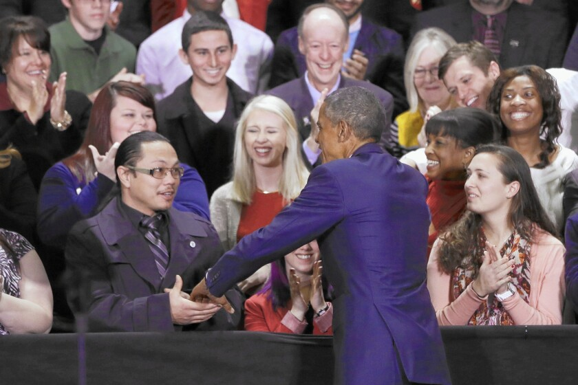 Obama in Tennessee