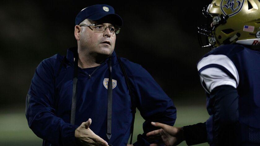 Coach Chris Thompson guided Bonita Vista to its best season in school history in 2015.