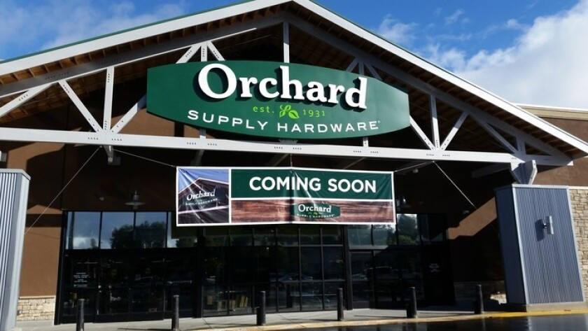 A new Orchard Supply Hardware store will be opening later this month in San Carlos.