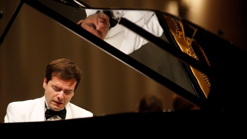 Swiss pianist Francesco Piemontesi made his Hollywood Bowl debut on Thursday.