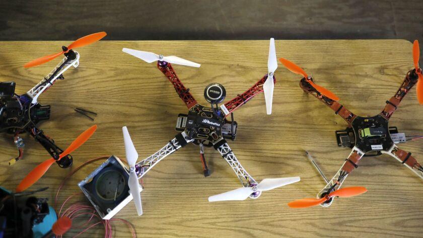 Drone training in San Diego