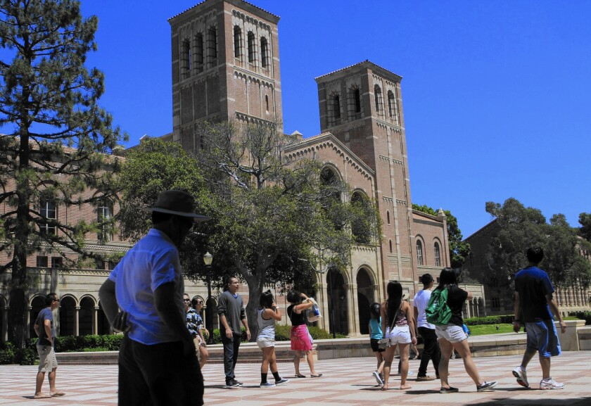 A debate over how much more tuition out-of-state students should pay is rumbling through the campuses of UCLA and the other schools in the UC system.