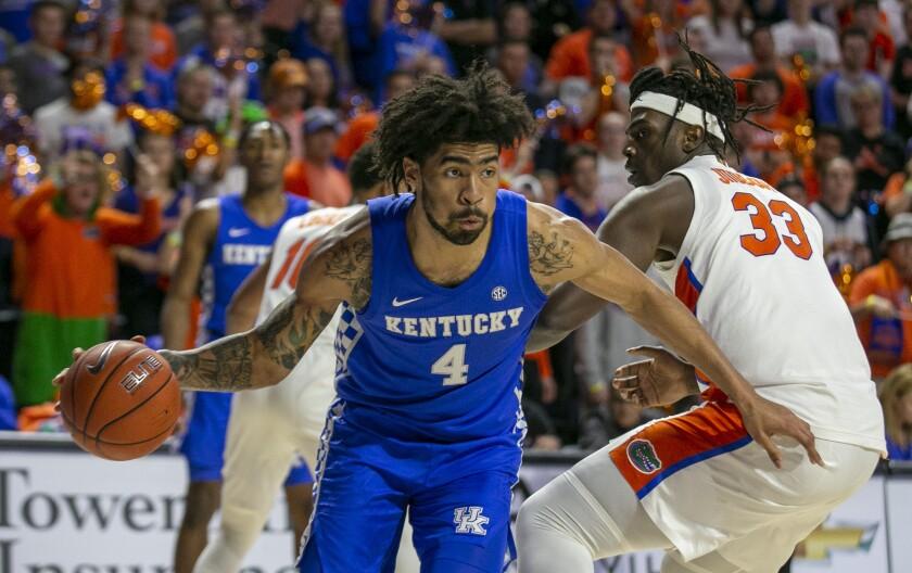 Kentucky Florida Basketball