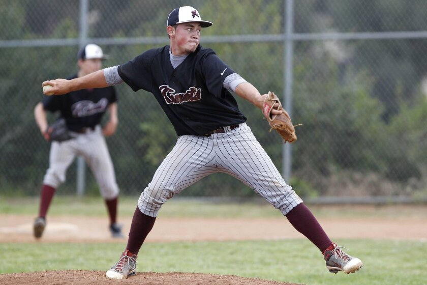Daniel Arellano, who overcame a rare disorder at a young age, has helped fuel the resurgence of the Kearny baseball program. Arellano pitched two scoreless innings Tuesday.