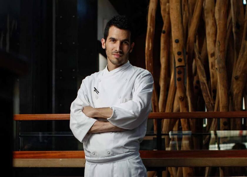 Chef Brian Redzikowski of Kettner Exchange. (Eduardo Contreras/Union-Tribune)