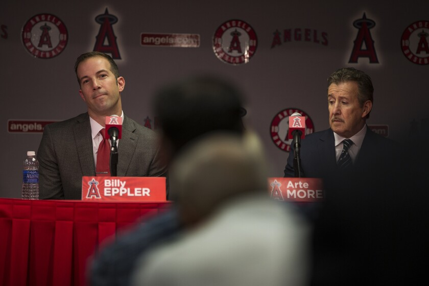 Angels GM Billy Eppler prefers not to trade away pitchers
