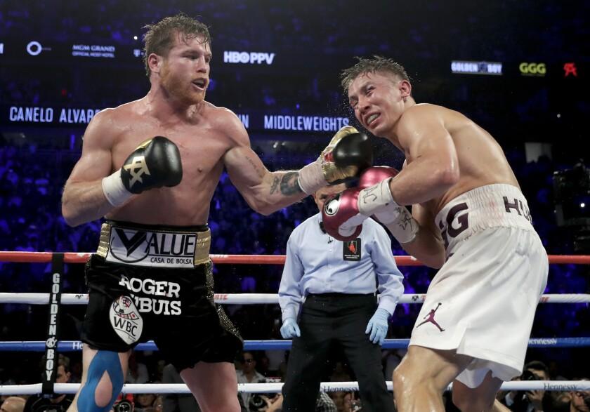 Canelo Alvarez vs. Gennady Golovkin