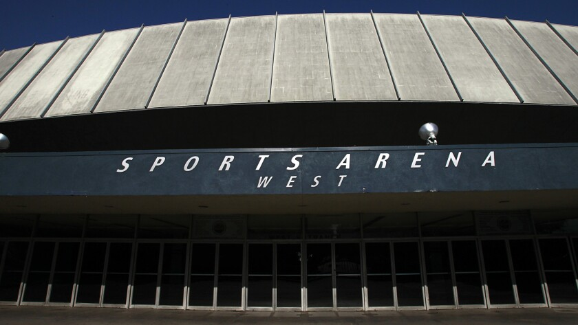 Could the Los Angeles Memorial Sports Arena be torn down to make way for a new soccer stadium?