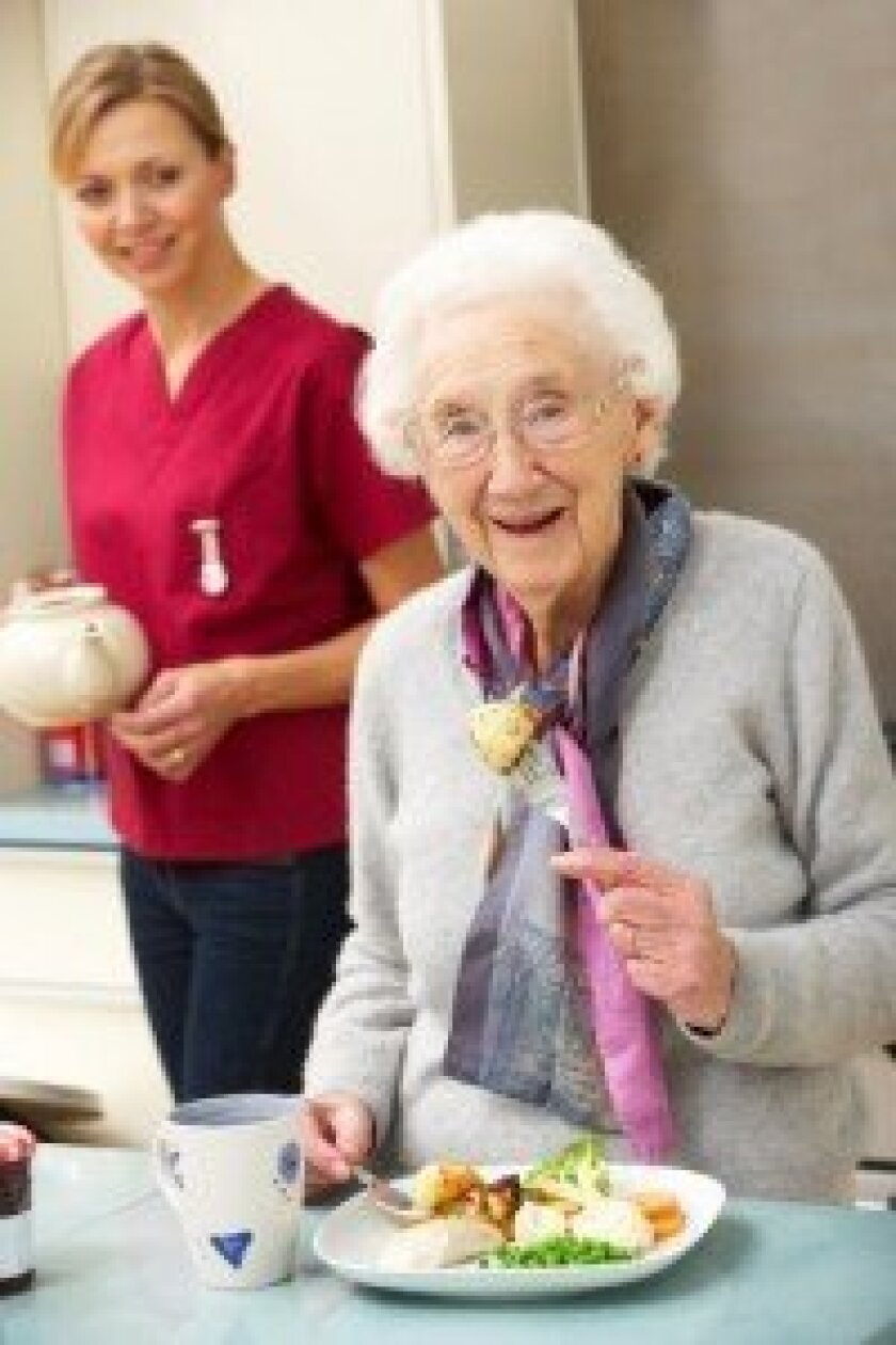 More and more people are turning to home care services for seniors as an alternative to assisted living. Photo Credit: Catherine Yeulet, Photos.com.