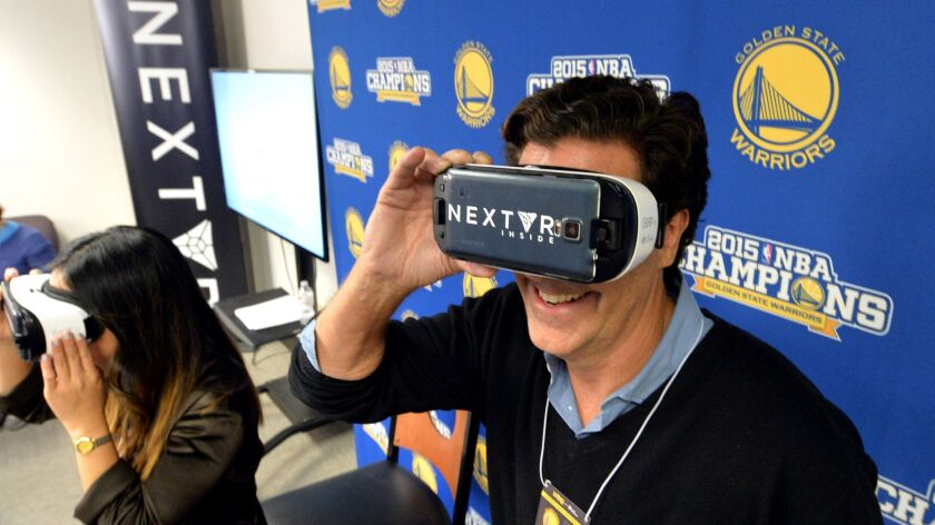 Troy Wolverton: Could virtual reality become the way we watch sports?