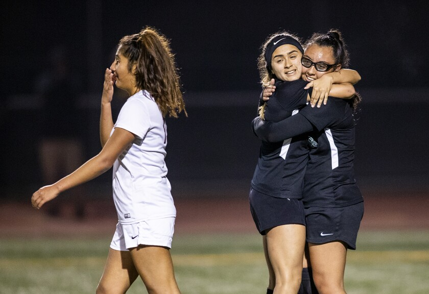 Costa Mesa girls' soccer rallies to beat rival Estancia