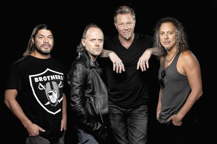 Metallica is donating to California wildfire relief efforts.