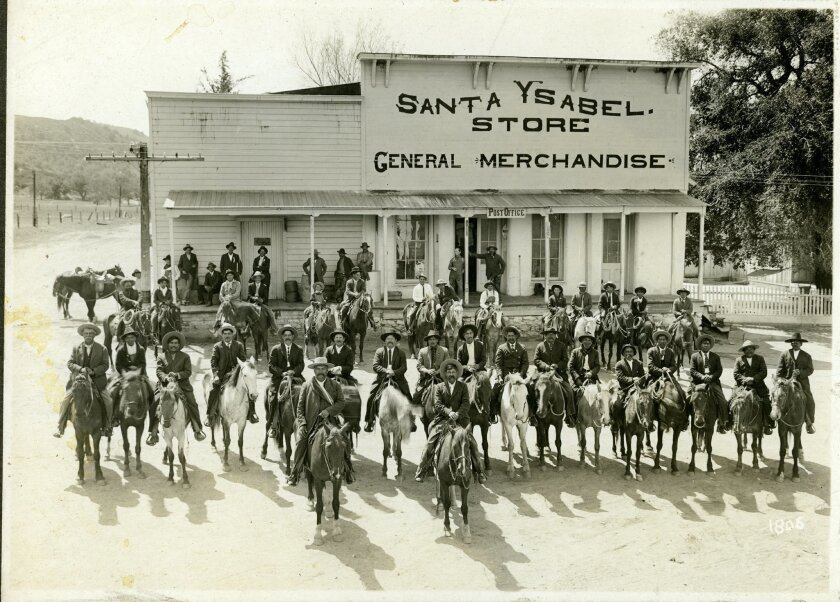 The Santa Ysabel general store was a gathering place for ranchers and farmers between Ramona and Julian.