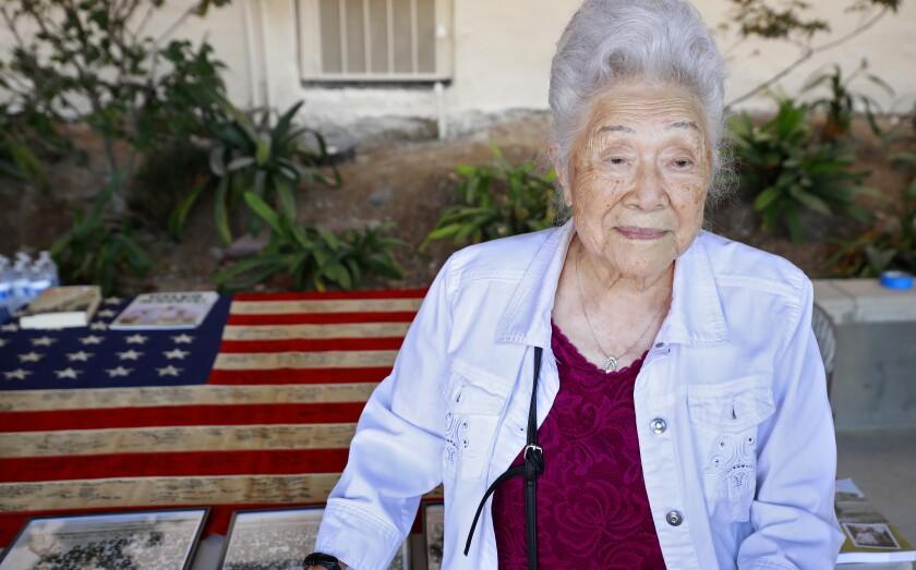 Yukiko Sugiyama, 100, was sent to live in the Poston Internment Camp in Arizona when she was 21.