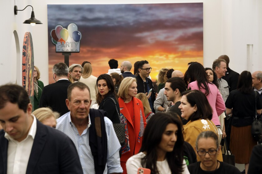Gaggles of VIPs (in the art world everyone is a VIP) descended on Frieze Los Angeles.