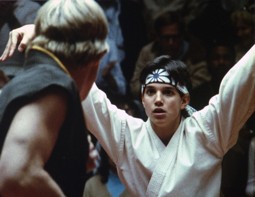 """The Karate Kid,"" which starred Ralph Macchio, is getting the stage musical treatment."