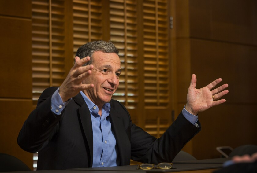 Walt Disney Co. Chief Executive Robert Iger.