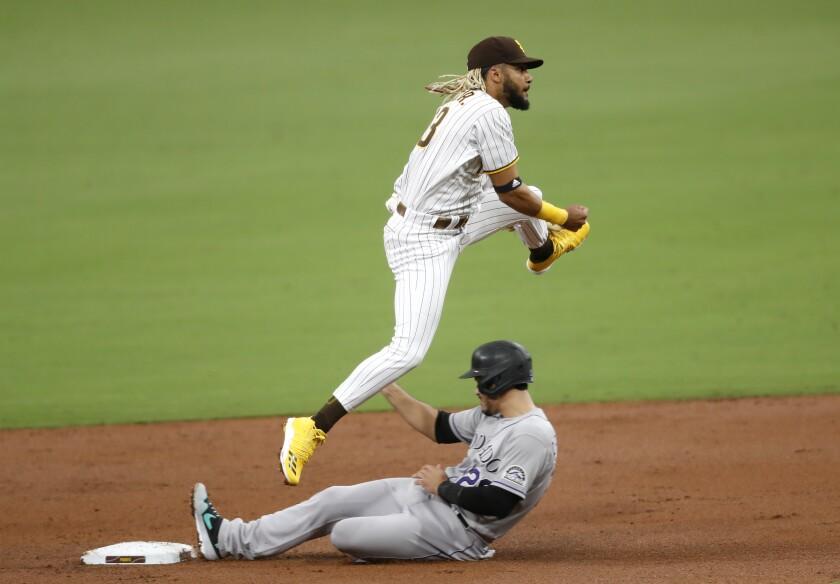 SSan Diego Padres shortstop Fernando Tatis Jr.