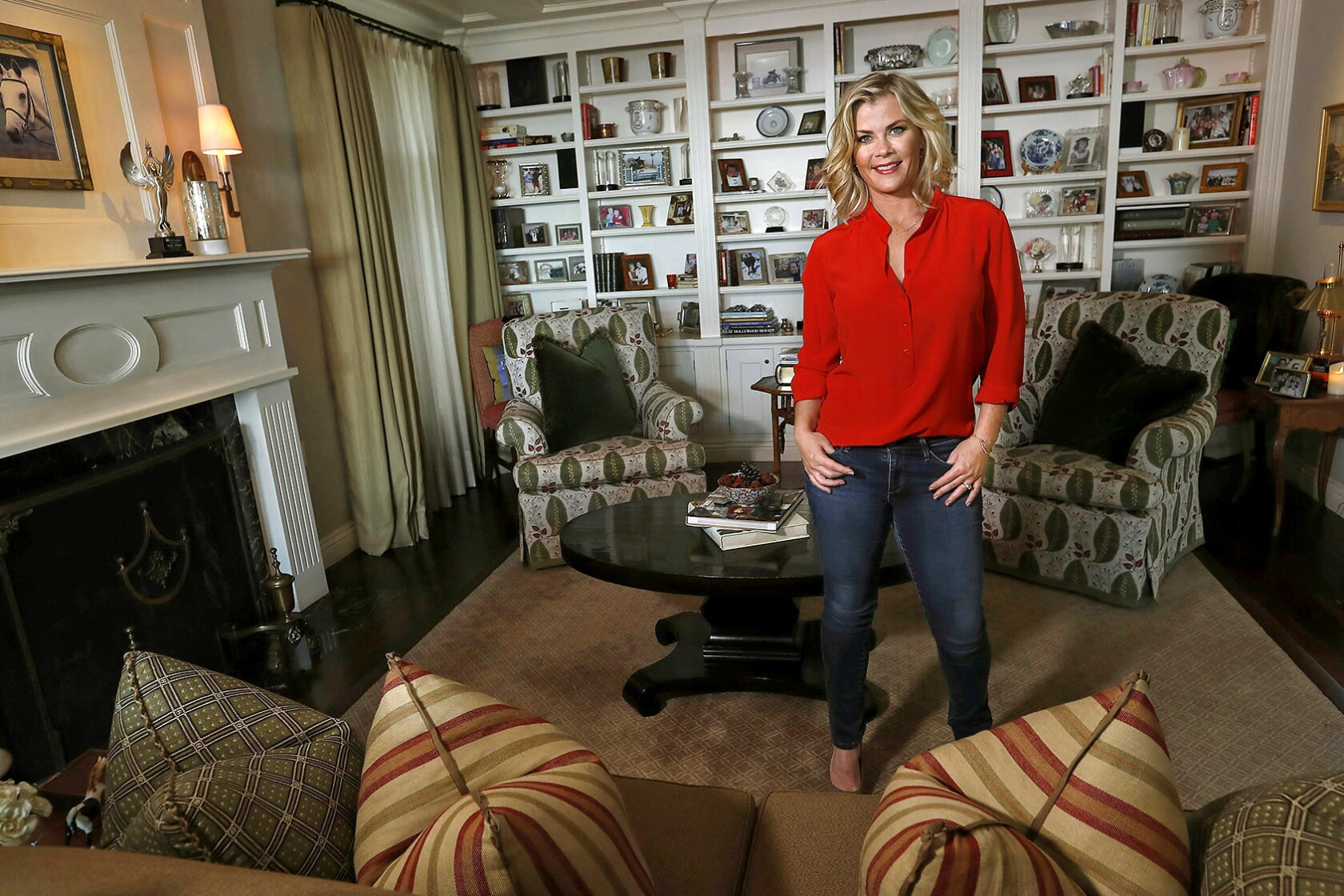 Alison Sweeney Family Pictures my favorite room: alison sweeney's living room can do a