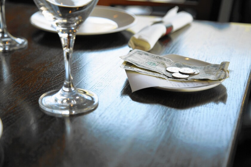 The custom of tipping at restaurants could be on the way out. There are ideas for change on the table, including set service charges and all-inclusive pricing.