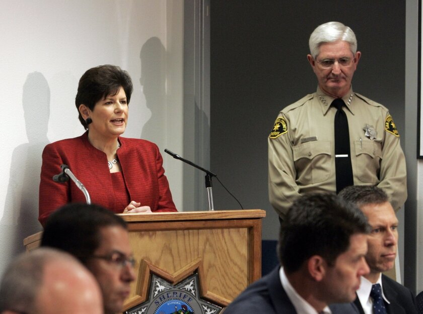 District Attorney Bonnie Dumanis and Sheriff Bill Gore have endorsed Supervisor Dianne Jacob for re-election.