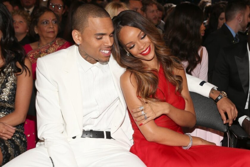chris brown and rihanna let s move on los angeles times chris brown and rihanna let s move on
