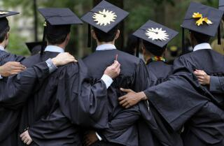 Majority of college seniors still looking for jobs