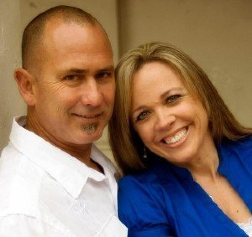Laurie Lovell with her husband Paul Lovell