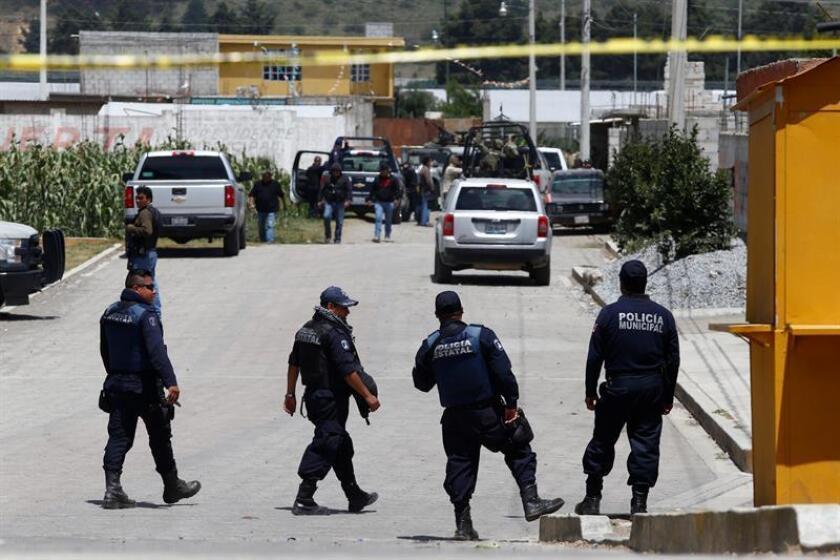 Un presunto criminal falleció y ocho más fueron detenidos tras un ataque armado contra personal de la Fiscalía mexicana en la ciudad de Puebla, informaron hoy las autoridades. EFE/ARCHIVO