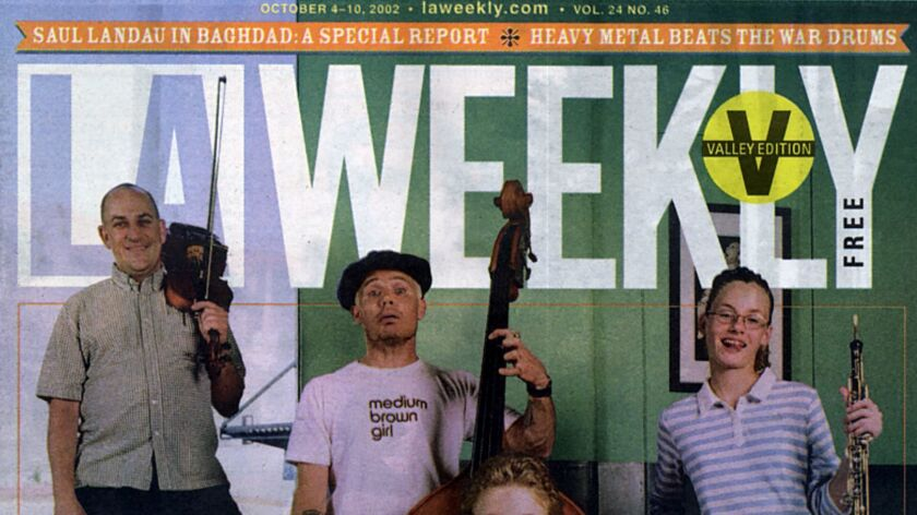LA Weekly, owned by Voice Media Group, is being sold to a new company.