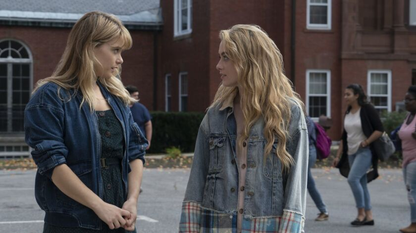 "Rachel Keller and Kathryn Newton are sisters building a new order in the Netflix teen drama ""The Society."""