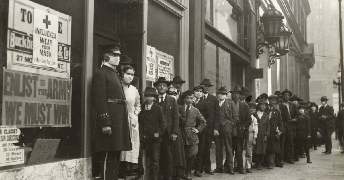 Letters to the Editor: Striking similarities in tragic tales from the 1918 flu pandemic