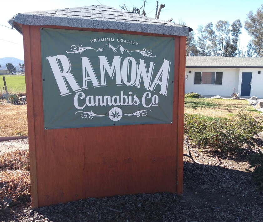 Ramona Community Planning Group will discuss how a county cannabis ordinance could impact Ramona at a March 4 Zoom meeting.