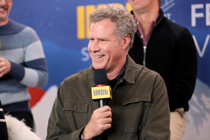 Will Ferrell at the 2020 Sundance Film Festival