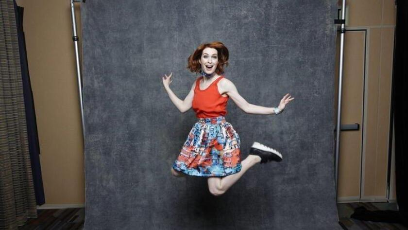 "Felicia Day of ""Supernatural."" (/ Jay Clendenin / Los Angeles Times)"