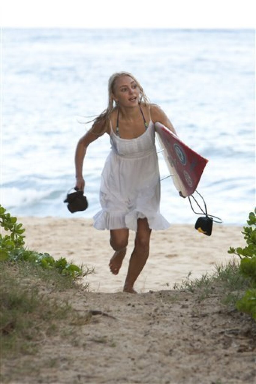 Review Soul Surfer Waters Down Shark Attack The San Diego Union Tribune