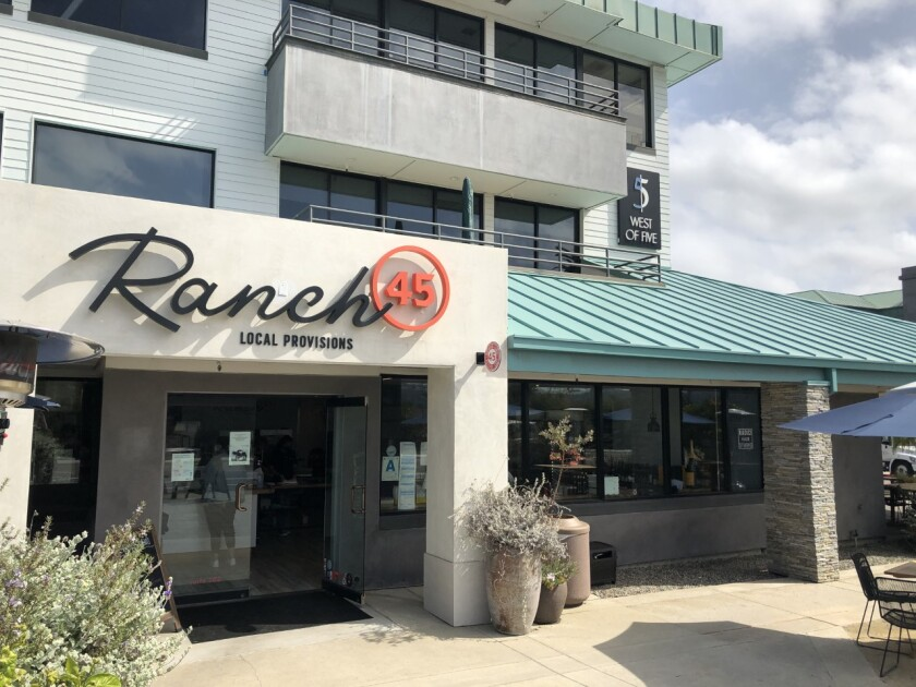 Ranch 45 restaurant in Solana Beach
