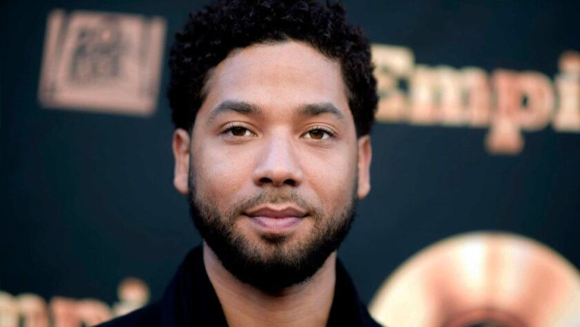 """Empire"" actor Jussie Smollett."