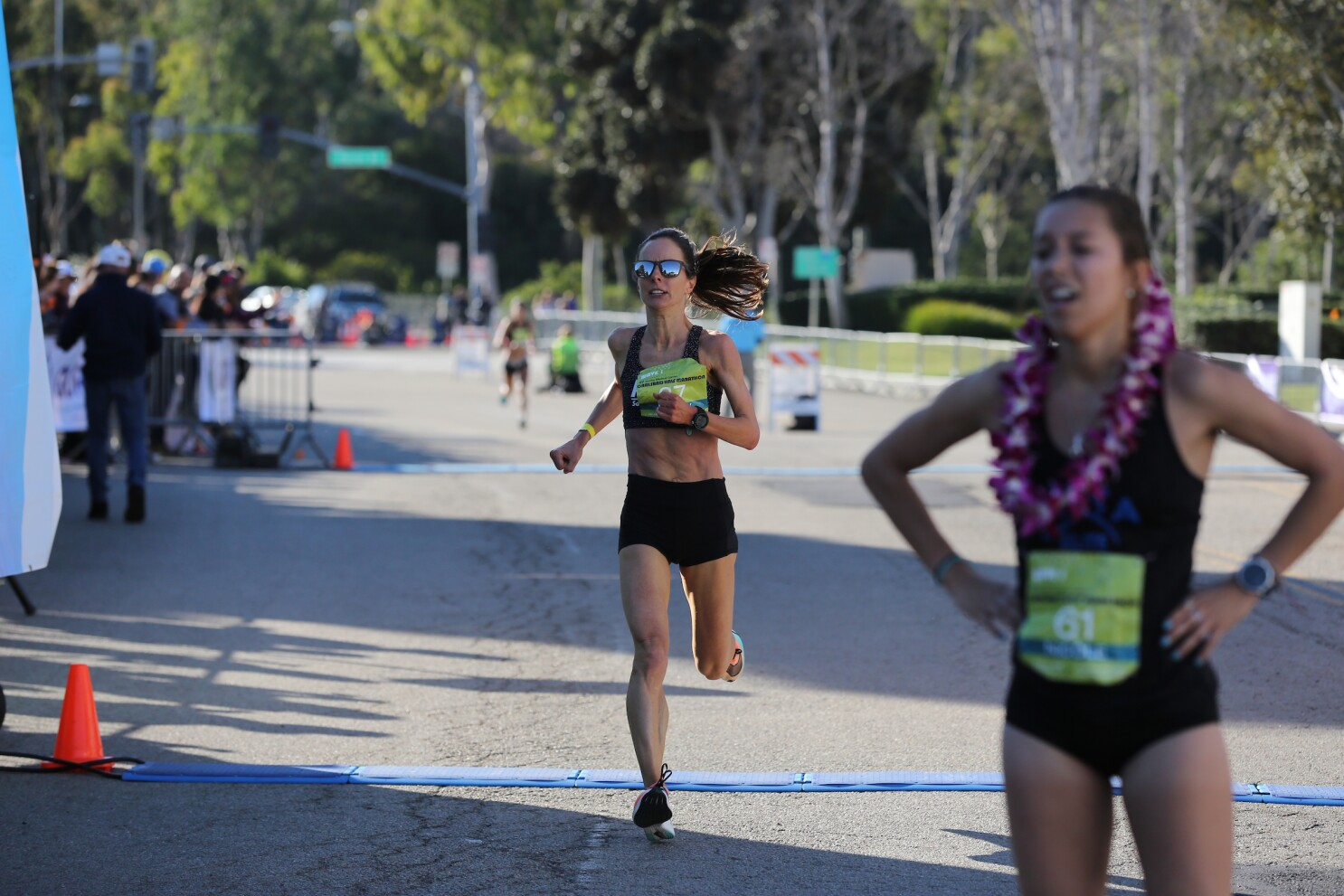 Carlsbad half marathon women's finish a thriller