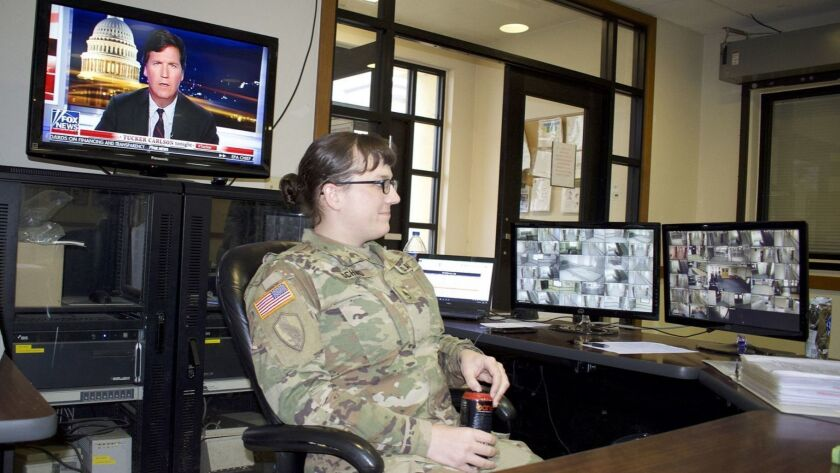 Army Staff Sgt. Cathrine Schmid on duty in South Korea. She speaks movingly about her 14-year ordeal to stay in the Army while transitioning from male to female.