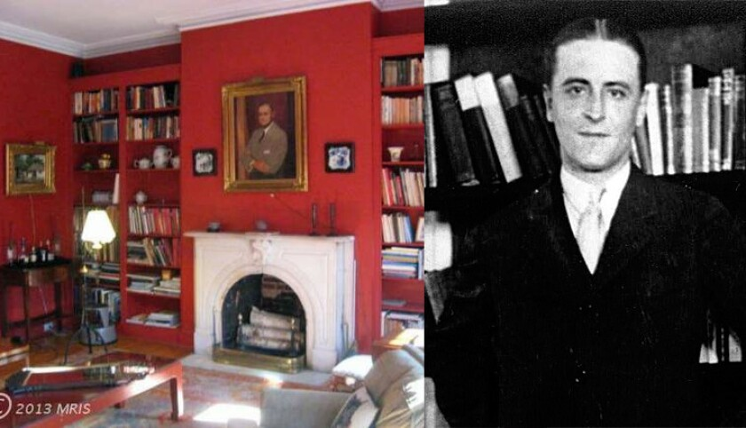 Fitzgerald and his town house