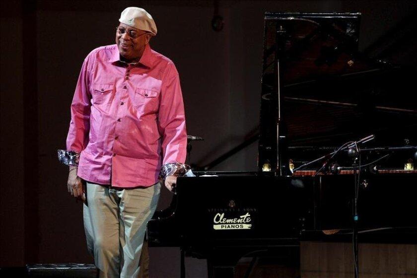 El pianista cubano de Jazz, Chucho Valdés, durante su actuación en la XVI edición del Festival de Jazz de Valencia. EFE/Archivo