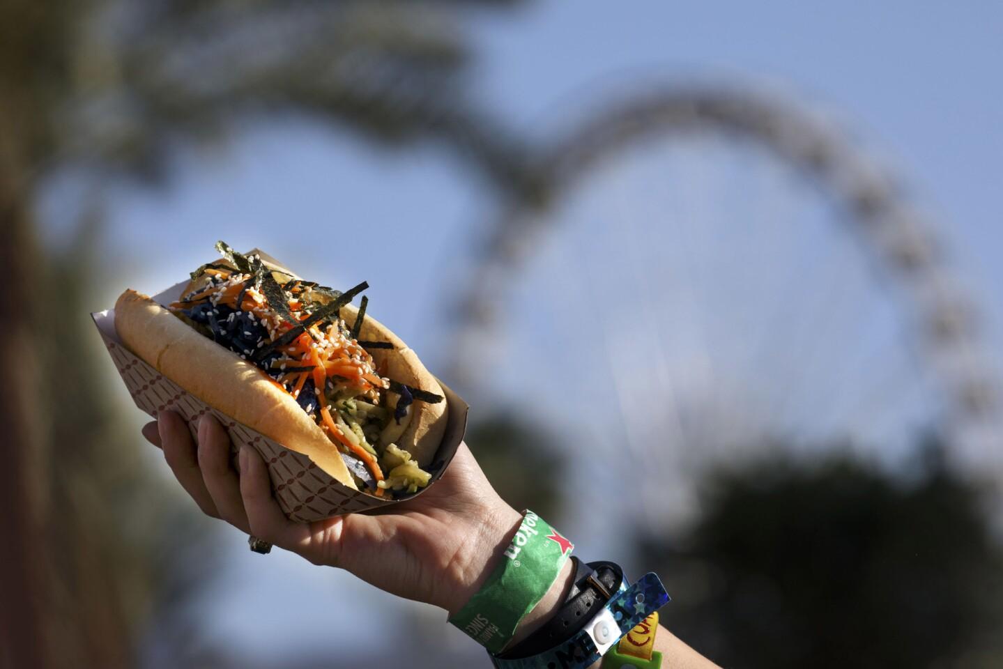 2017 Coachella music festival: The food