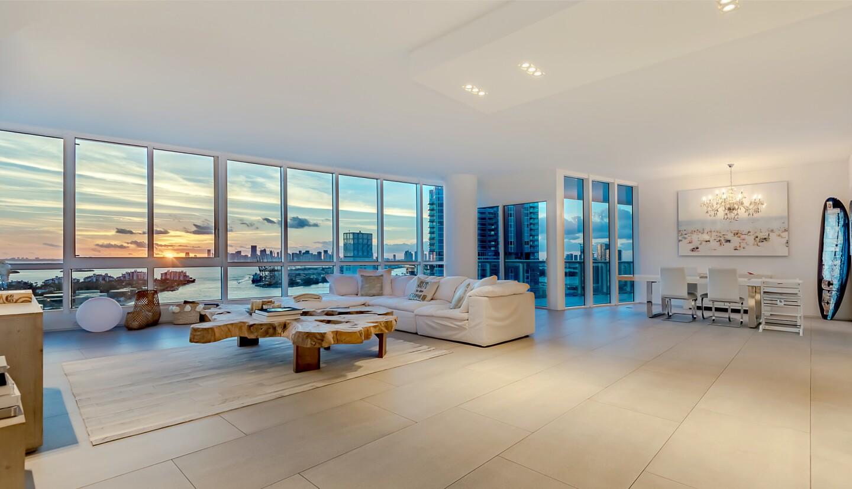 Stan Wertlieb's Miami Beach condo