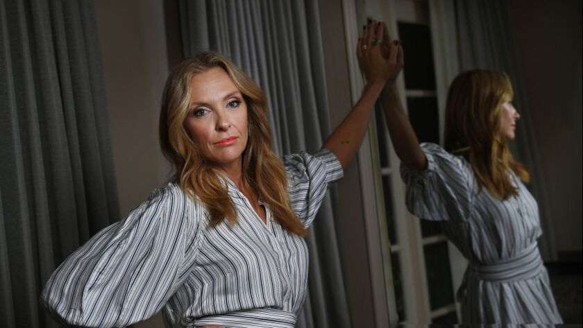 LOS ANGELES-CA-MAY 21, 2018: Hereditary cast including actress Toni Collette is photographed in Beve
