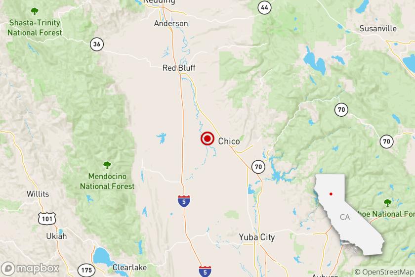 Chico earthquake Nov. 19