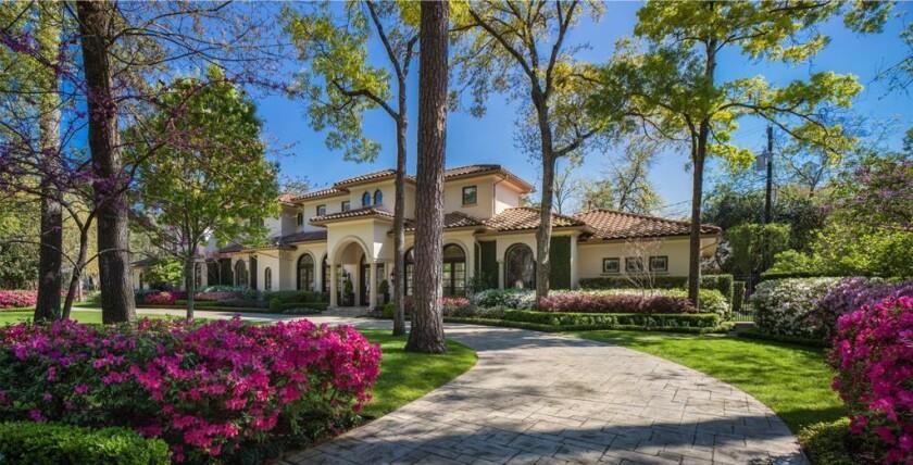 Mark O'Meara's Houston home