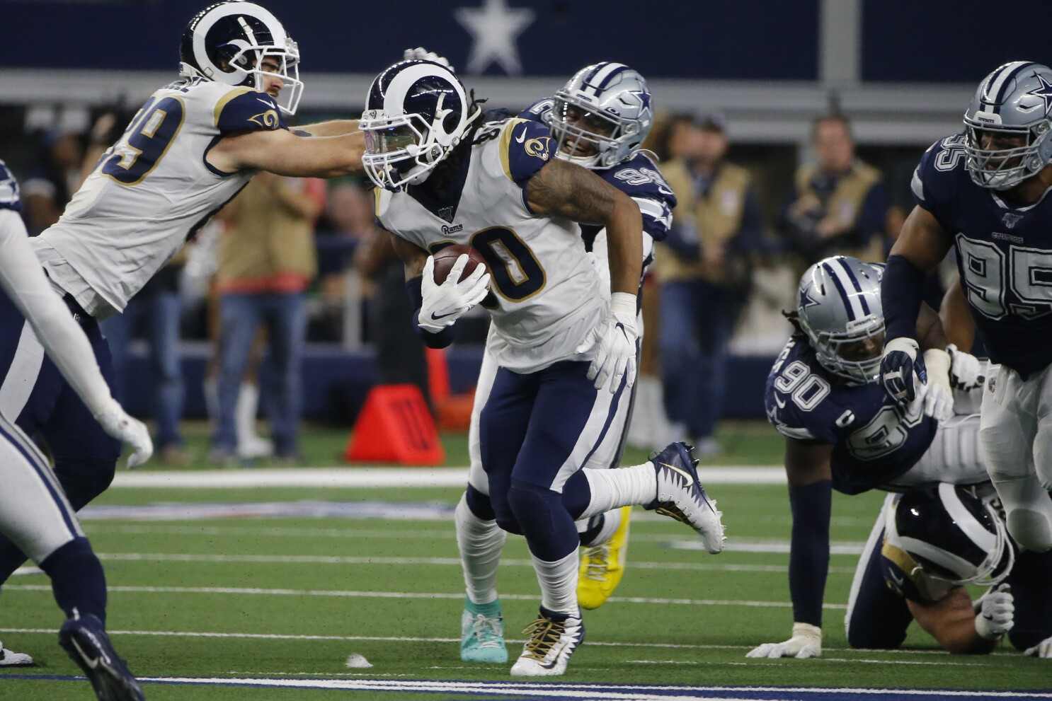 Cowboys Shut Down Todd Gurley And Rams Rushing Game In Win The San Diego Union Tribune