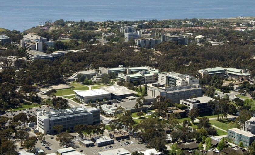The UC San Diego campus.