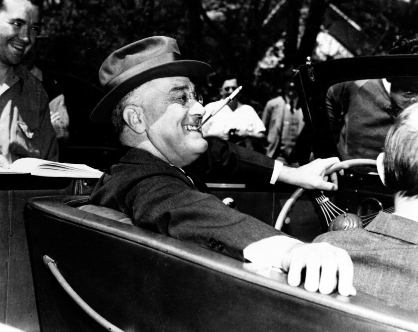 FDR faced a revolt from wealthy right-wing Democrats too.